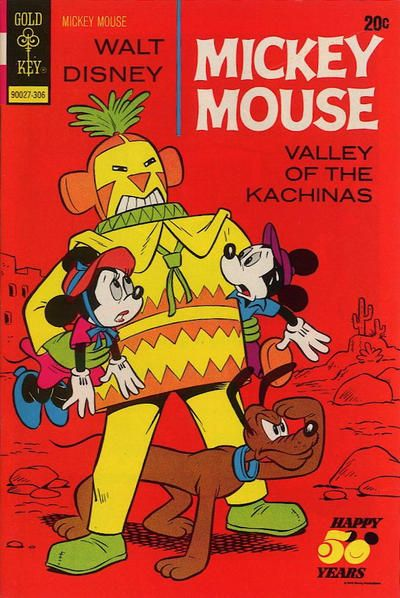 Cover for mickey mouse western series cover