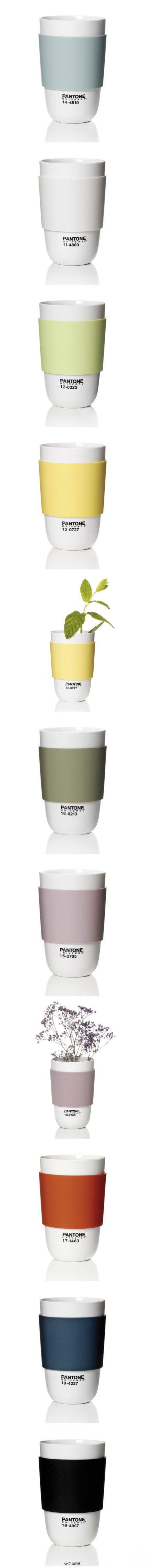 潘通色杯子  杯子是我们生活中最常用的,...