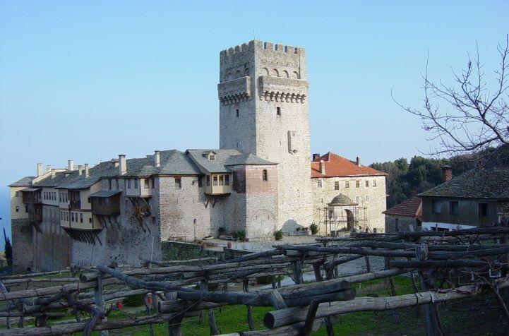 Οι αμπελώνες της Μονής Καρακάλλου - The vineyards of Karakallou Monastery