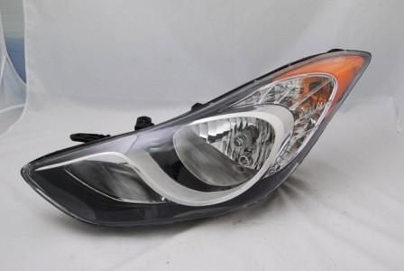 2011-2013 Hyundai Elantra Headlamp Assembly LH
