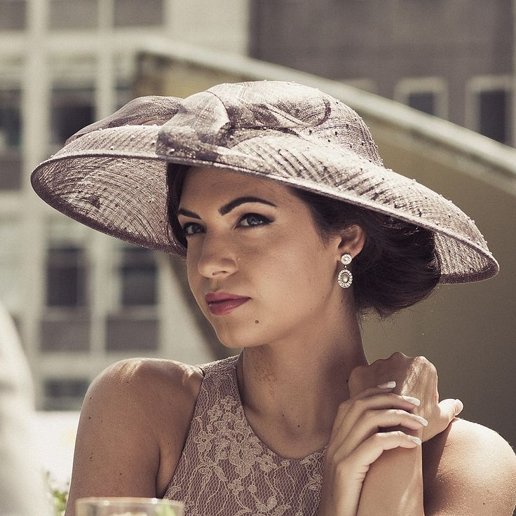 Chapeau de Mariage Rhinestone argent FAILSWORTH