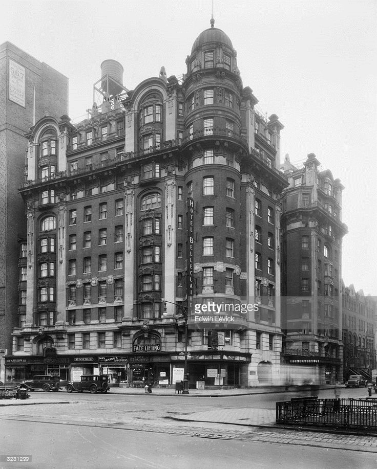 Apartment Classifieds Ny: Exterior View Of The Hotel Belleclaire At 250 West 77th