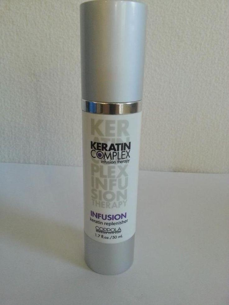New Coppola Keratin Complex Keratin INFUSION Replenisher 1.7 oz. Free Shipping #Keratin