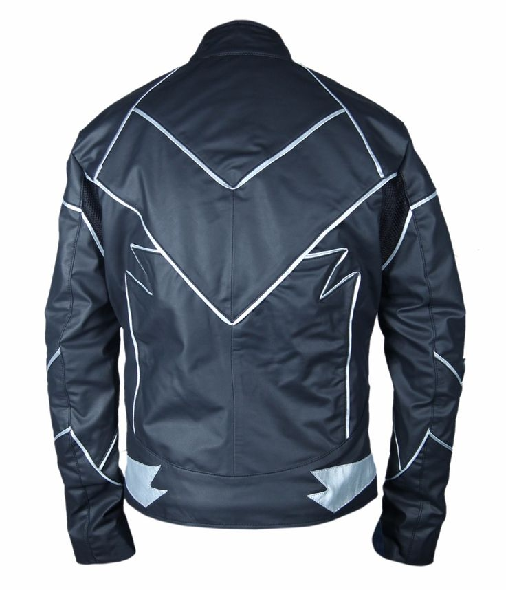 """This costume jacket was worn by Zoom in Hollywood TV Series """"The Flash"""" season 2. This villainous character was played by Teddy Sears in The Flash. This jacket isprepared from high quality of Leather Material,..."""