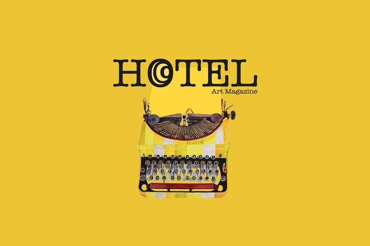 Hotel Art Magazine Painting by Dimitra Katsaouni Logo designed by Nikos Zappas ®