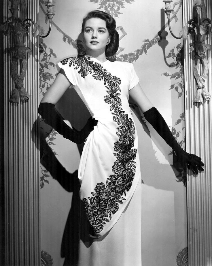 Dorothy Malone, 1940s from screengoddess