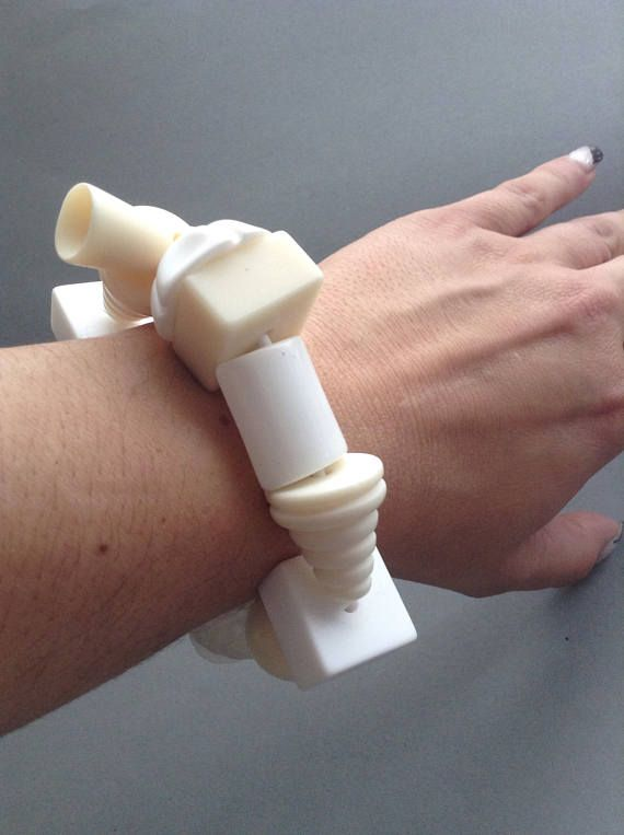SALE Sobral Resin Beaded Stretch Bracelet Jackie Brazil