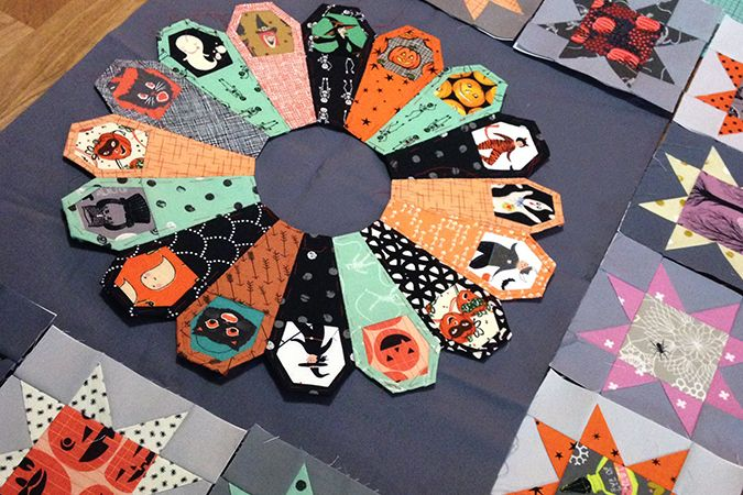 Halloween Quilt – My Paper Crane