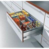 Комбинированный ящик Tandembox для продуктов и бутылок Выдвижные кухонные ящики Тандембокс Блюм (Tandembox Blum)