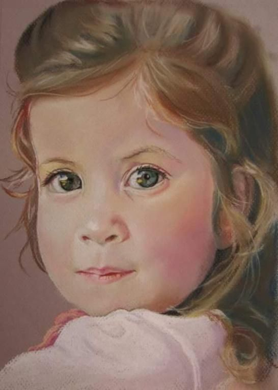 Evie, Pastel A4, Dec 2015, by Moey (NFS) No.12