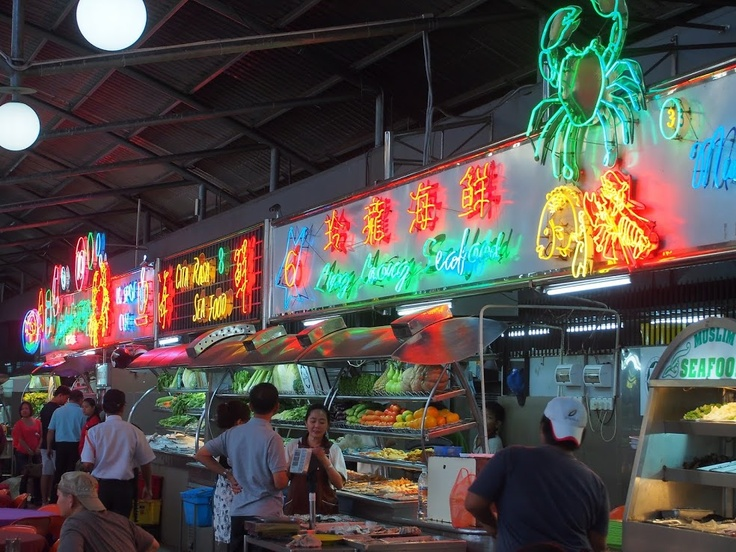 Night Food Markets, Kuching in Sarawak