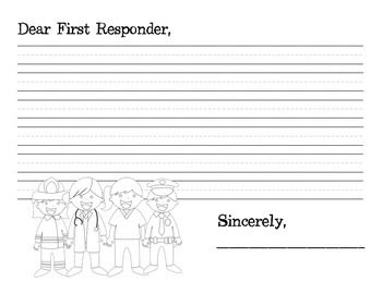 First Responder Thank You: 9/11 Extension Activity Focus on the heroes of September 11 and thank the heroes of your own community!
