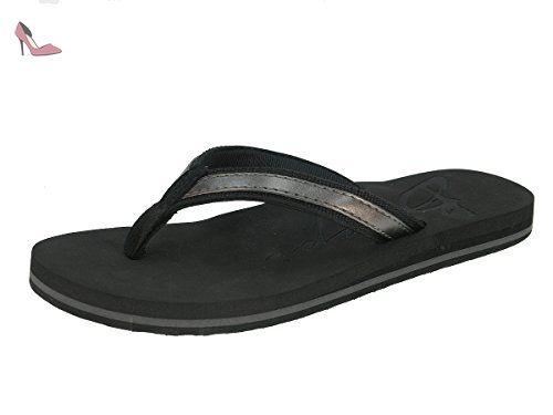 Beppi femme pantoufles tongs pantoufles pantoufles d'été flip flops 2154520, noir, 36 - Chaussures beppi (*Partner-Link)