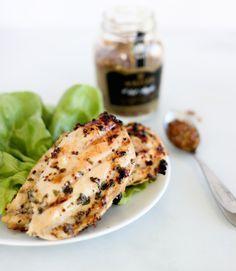 Sweet Apple & Mustard Chicken ‹ Hello Healthy > Mustard, EVOO, ACV, Honey, Make Applesauce with Crab Apples