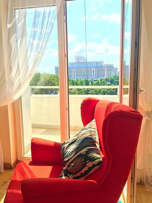 Check out this awesome listing on Airbnb: Amazing view from our Penthouse - Flats for Rent in București