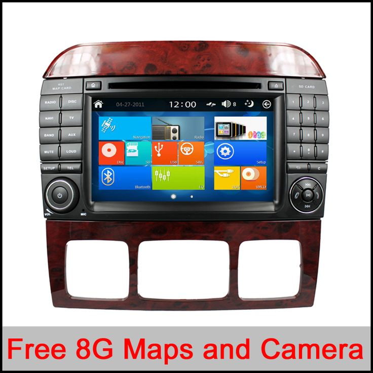 Capacitive Screen Car DVD Player For Mercedes/Benz S CLClass W220 W215 S550 S600 S350 S400 S280 S320 S65 AMG iPhone GPS Radio