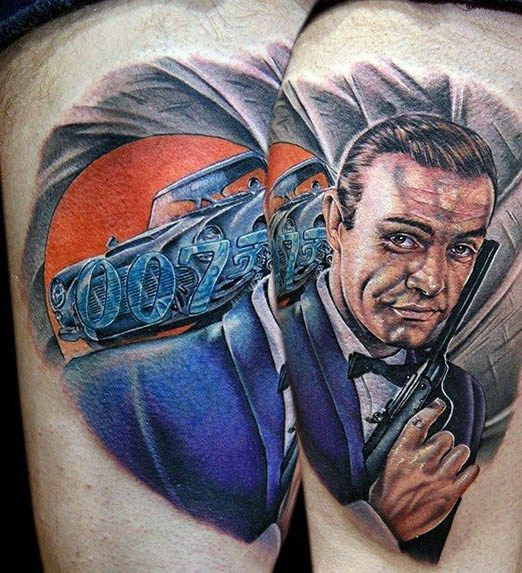 41 best tattoo ideas images on pinterest tattoo ideas for Sean connery tattoos