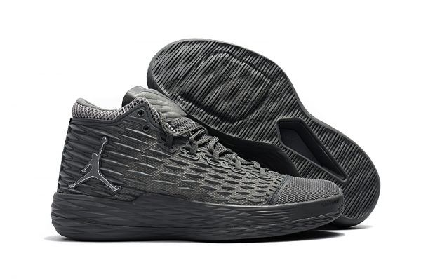 35005dccb54ca Jordan Melo M13 Wolf Grey Mens Basketball Shoes For Sale-2