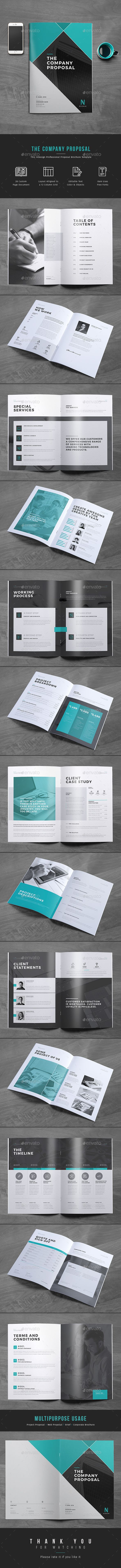 Proposal Design | Download Now https://graphicriver.net/item/proposal/17087638?ref=themedevisers