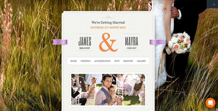 Best WordPress Themes for Weddings, Engagements and Newlyweds (2017)
