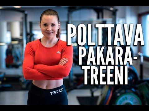 Polttava pakaratreeni - Sanna Laitinen (VIDEO) | Tikis.fi