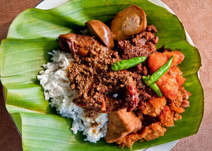 Gudeg - Traditional dish from Yogyakarta, Indonesia. This food always make me come back to Yogya after a while