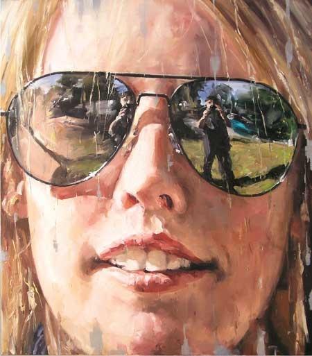 Stephen Allwood - Self portrait, 2010, oil on canvas