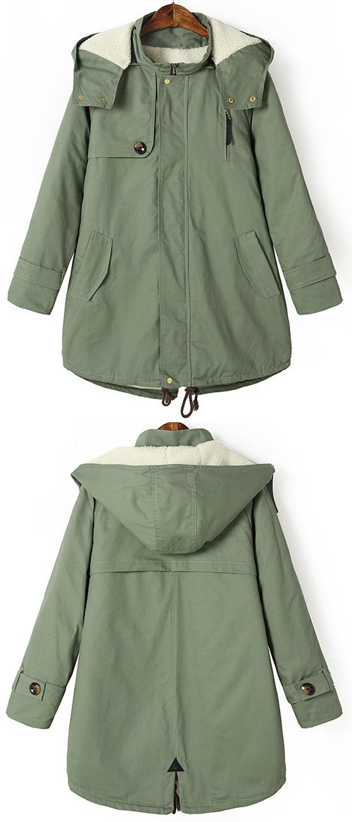 It's a time to slip into something a little more comfortable. This cozy hooded coat features a removable hooded design and fleece lining. See the full collection at Cupshe.com !