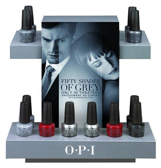 OPI Fifty Shades of Grey Spring 2015 Collection