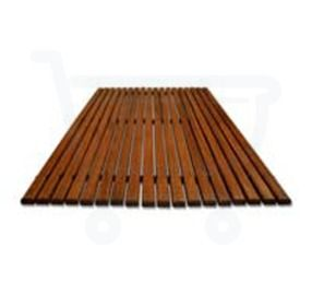 Woodynox houten badmat 45 x 60 cm eiken - Woodynox Badkameraccessoires - RE723 - Sanitairwinkel.be