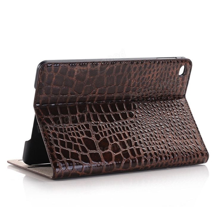 WLD A002 Crocodile Embossed Plate Shell Flip PU Leather Protective Cases For iPa…