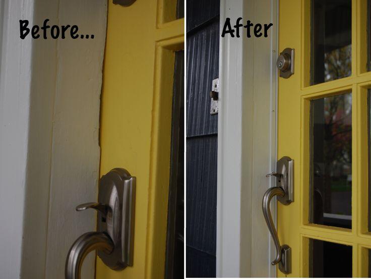 weatherstripping your front door - Door Frame Weather Stripping