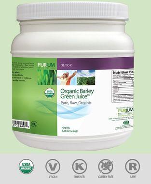 Organic Barley Green Juice - 240 g