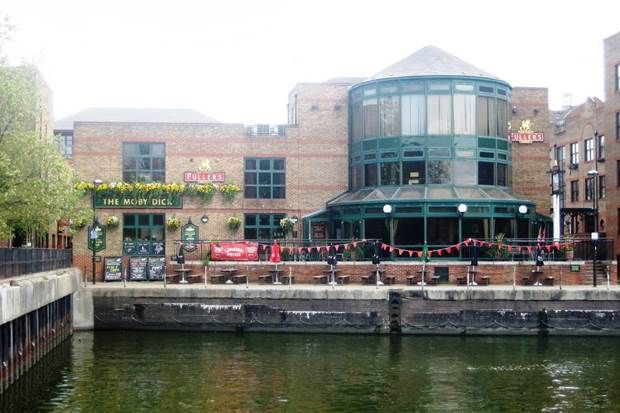 the moby dick pub, Surrey Quays