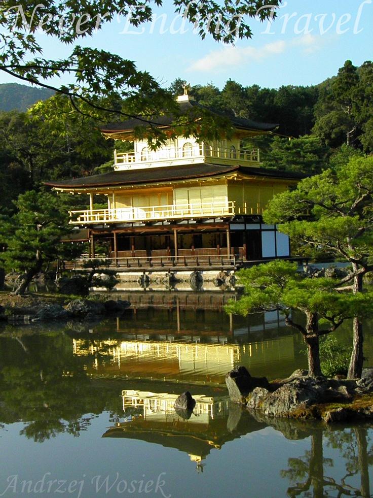 Temple of the Golden Pavilion // Kinkaku-ji // 金閣寺 // Kyoto Japan  photo made by Andrzej Wosiek