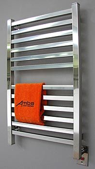 Love The Look Of This Modern Towel Warmer. Need One!