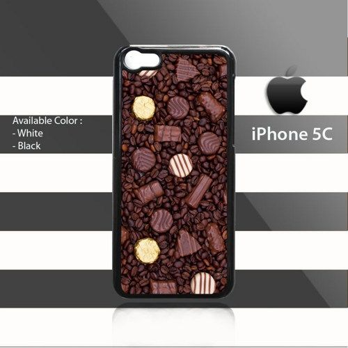 Chocolates on Coffee Beans iPhone 5c Rubber Case Cover