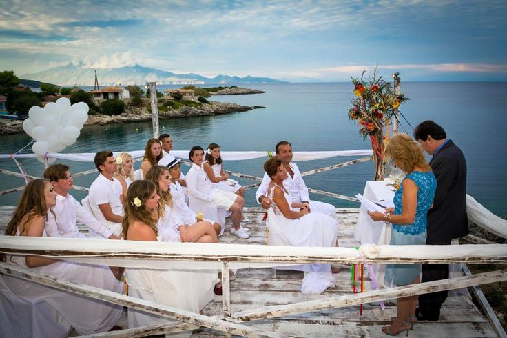 The perfect ceremony for your dream #wedding! #PaliokalivaVillage #Zante Photo credits: Albert Daniels