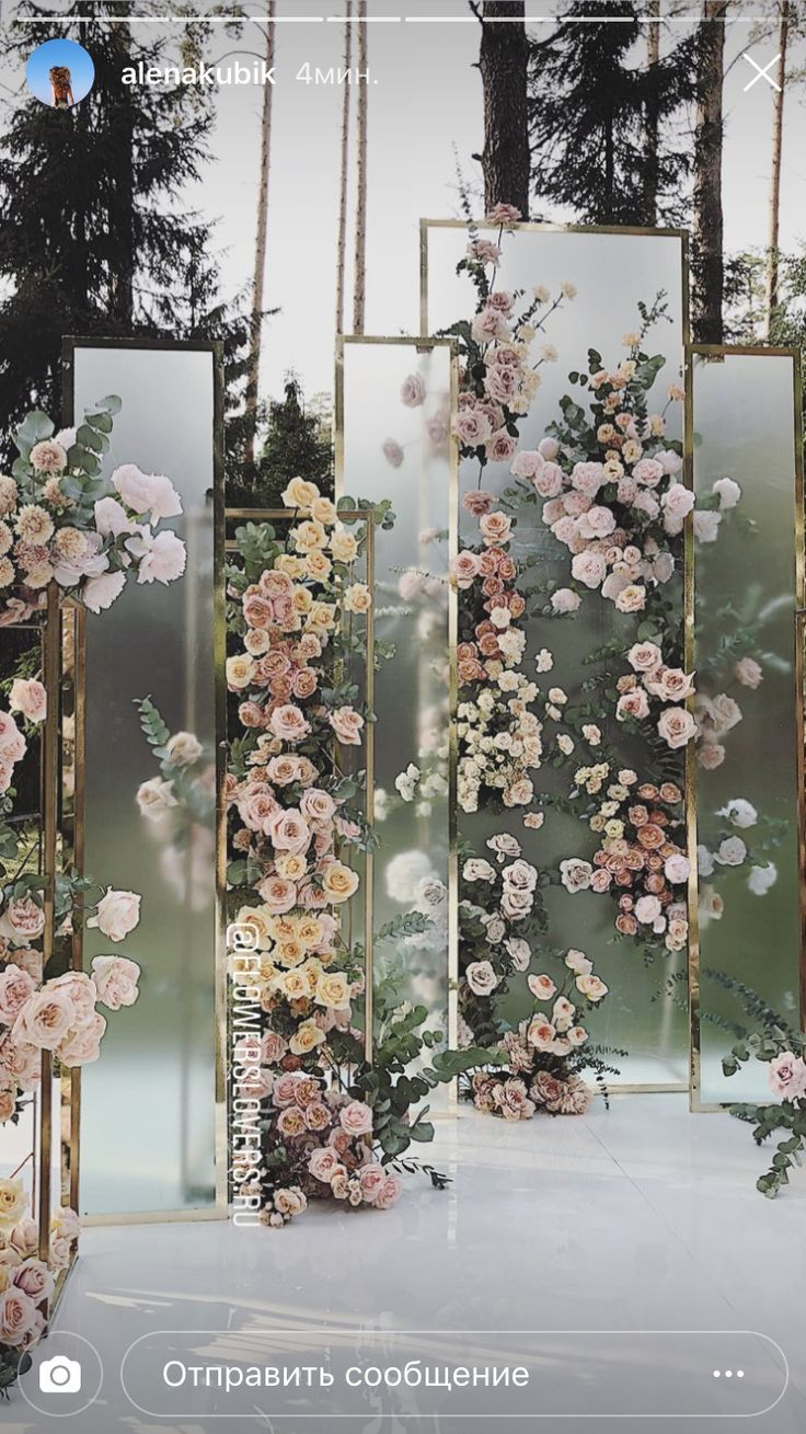 glass panels with pink roses – #cherryblossom #Glass #panels #pink #Roses