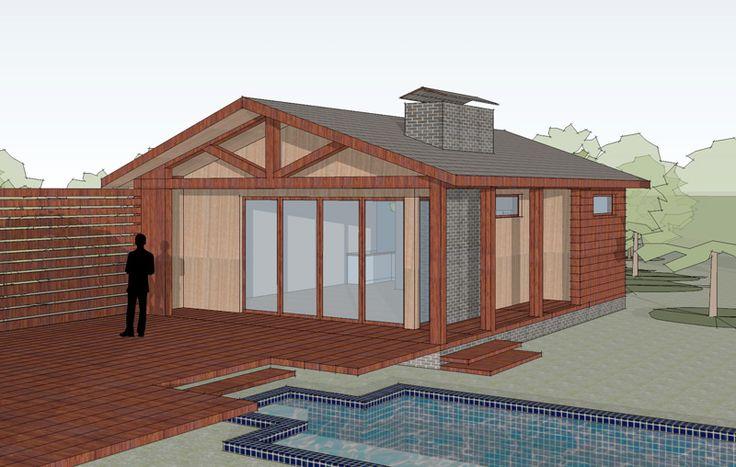 Модель гостевого дома