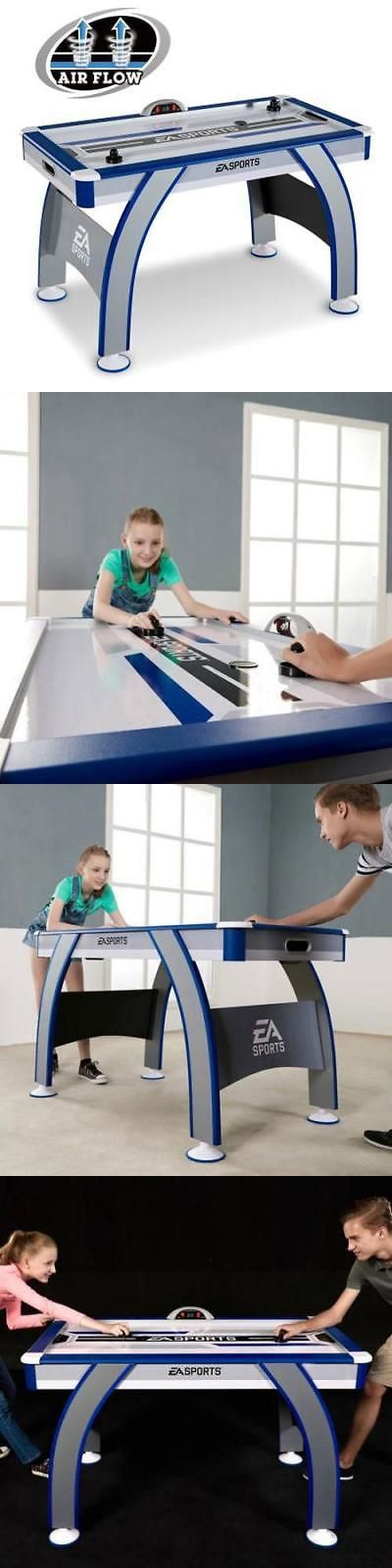 Air Hockey 36275: Ea Sports 54 Inch Air Powered Hockey Table With Led  Electronic Scorer