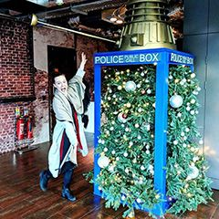 ICYMI: Google Stuffs Christmas Tree In Old Police Box