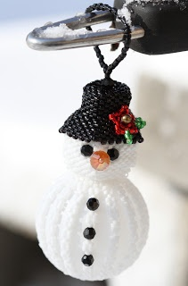 A seed bead project I just might do . . . this is from A Work in Progress