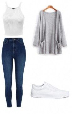 50 simple school outfits for women 17