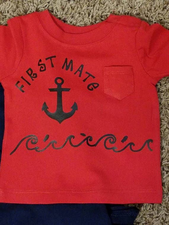 Check out this item in my Etsy shop https://www.etsy.com/listing/514102370/infant-first-mate-tee-shirt