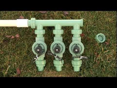 Orbit DIY How To Winterize A Sprinkler System