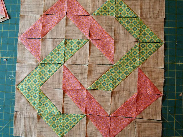 Thangles6 By Imagingermonkey Via Flickr Quilt Block