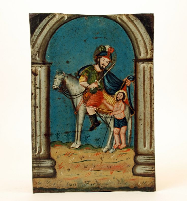 Saint Martin of Tours Retablo