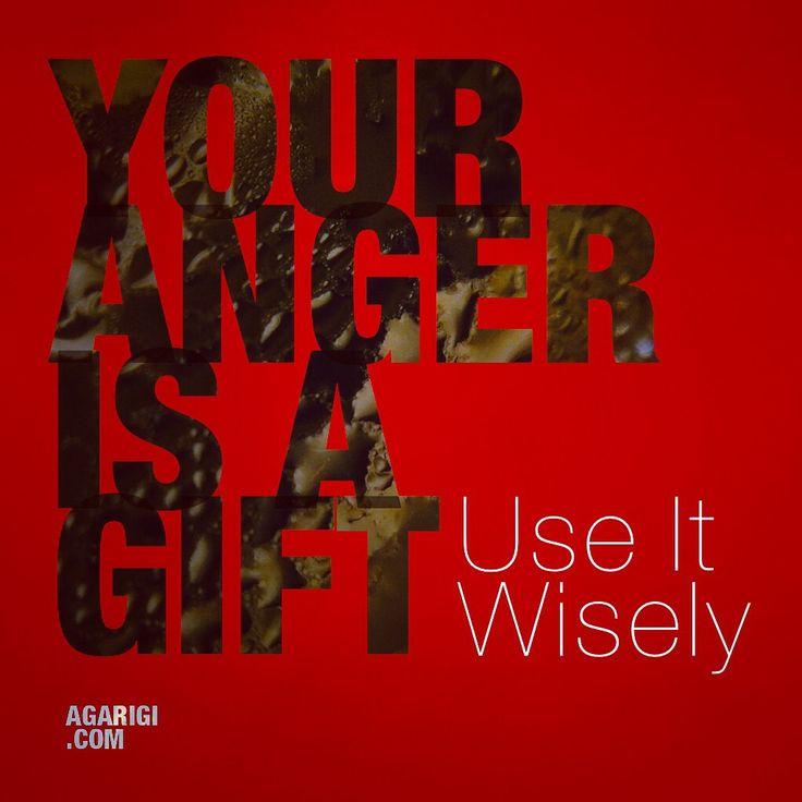 """Your anger is a gift"". Mengutip lirik yang dilantunkan Zack De La Rocha (RATM). – View on Path."