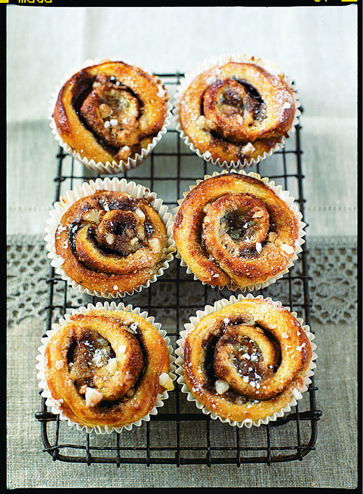 These fragrant Scandinavian cinnamon whirls, with the sweet smell and warm taste of cinnamon, are very tempting and moreish.